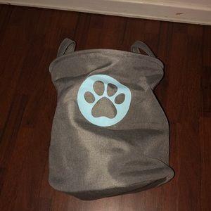 Large collapsible pet bag/basket